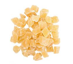 Імбир цукати (кубики), цукати з імбиру в цукрі 5 кг, PL