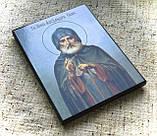 Икона Преподобный Александр Свирский, фото 4