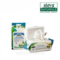 Салфетки Aleva Naturals Bamboo Baby для десен и зубов младенца (15 x 20 см), 30 шт.