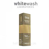 """Зубная паста WhiteWash """"NANO отбеливающая с ионами золота"""",  75 мл"""
