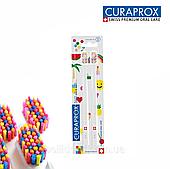 Набор зубных щеток Curaprox POP ART Edition Ultra Soft, d 0,10 мм, 2 шт.