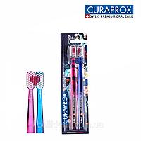 Набор зубных щеток Curaprox LOVE Ultra Soft, d 0,10 мм, 2 шт, фото 1