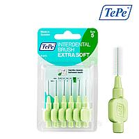 Межзубная щетка TePe Extra Soft, зеленая (0,8 мм),  6 шт., фото 1