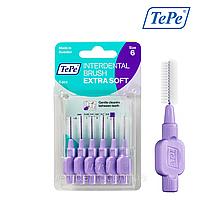 Межзубная щетка TePe Extra Soft, фиолетовая (1,1 мм),  6 шт., фото 1
