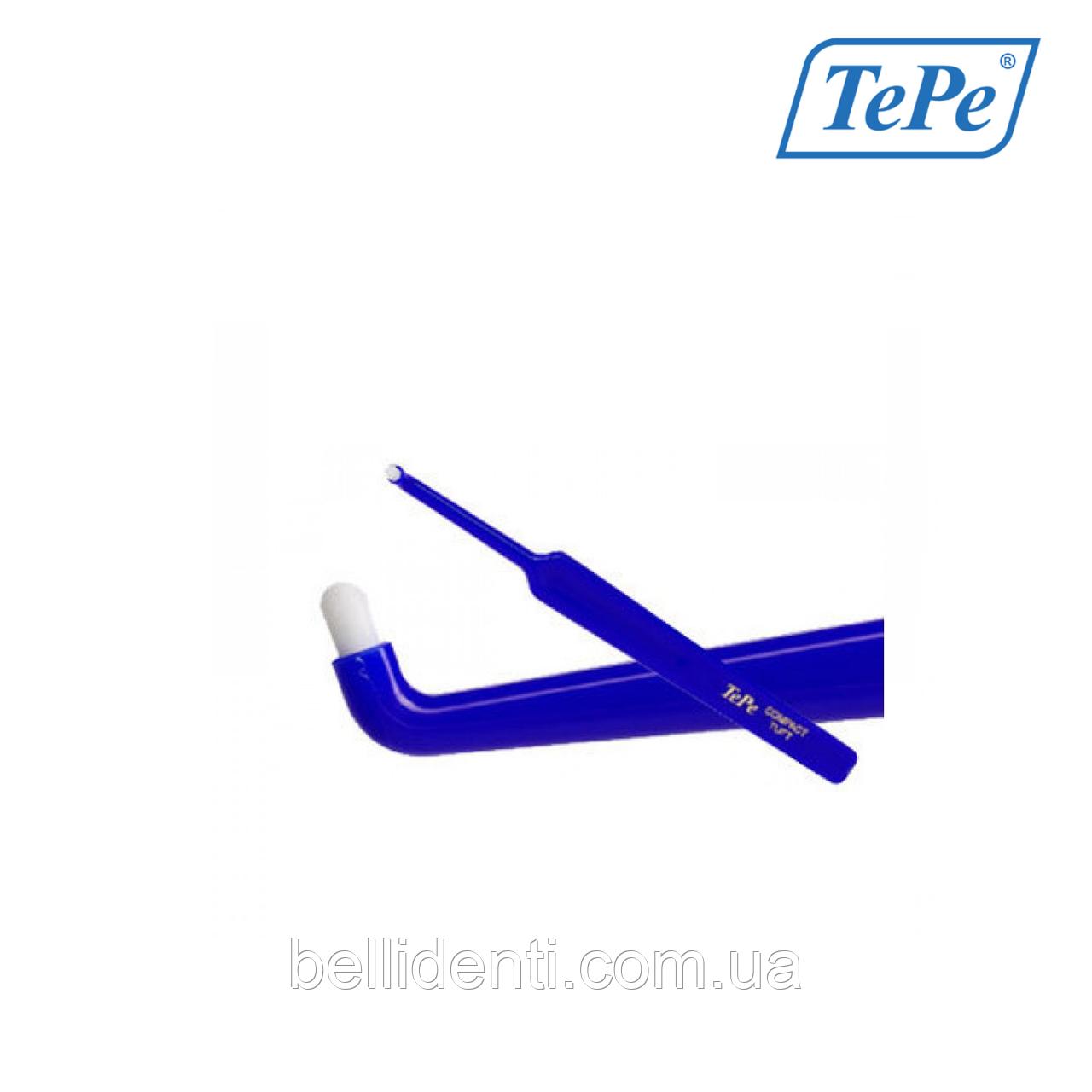 Монопучковая зубная щетка TePe Compact Tuft (в блистере), 1 шт