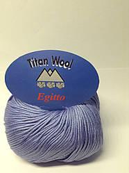 Пряжа Egitto Titan wool Італія (100% бавовна)