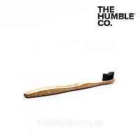Бамбуковая зубная щетка The Humble Co, мягкая, фото 1