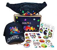 Бокс Амонг Ас с кепкой – отличный подарок любителям игры Among Us