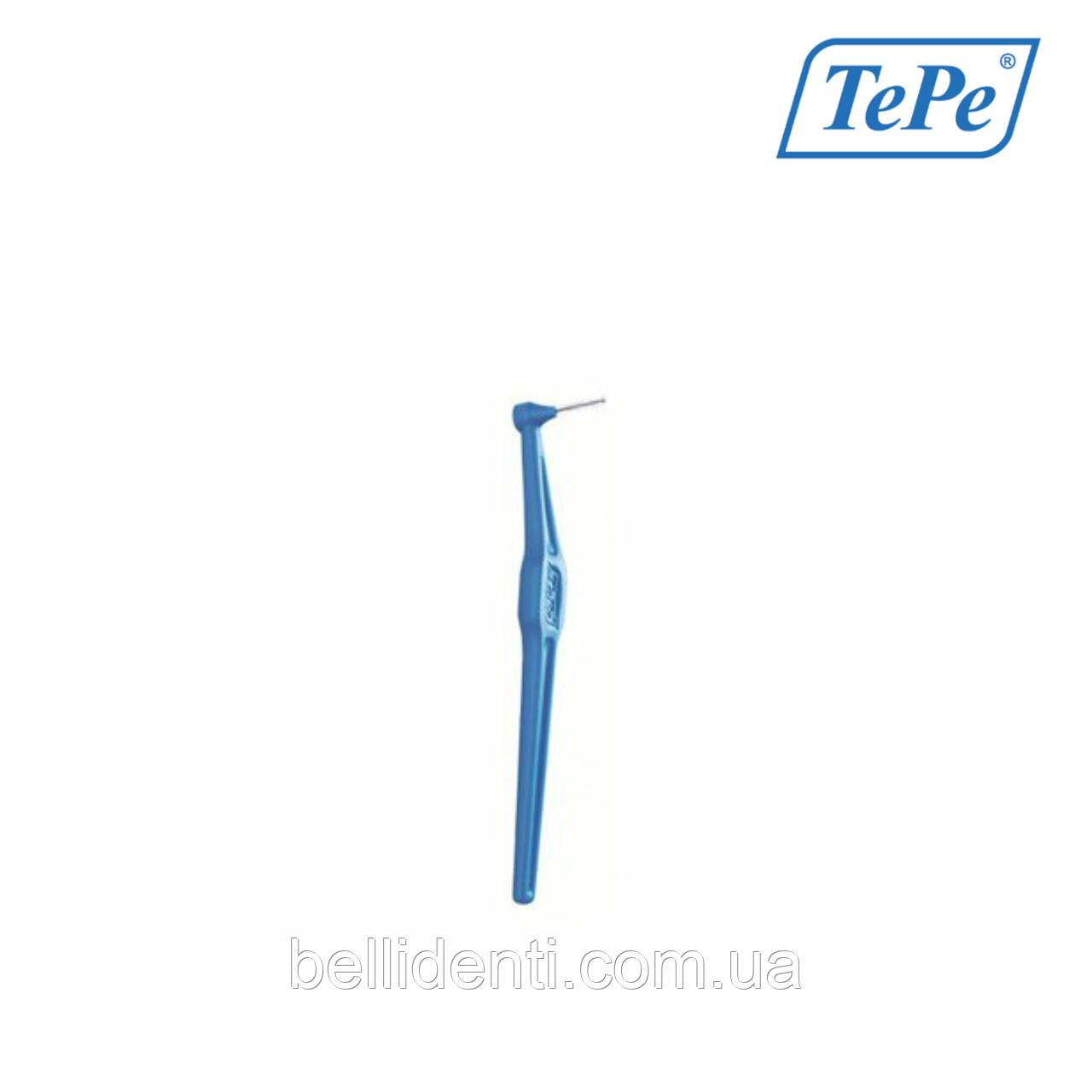Межзубная щетка TePe Angle угловая, синий (0,6 мм), 1 шт