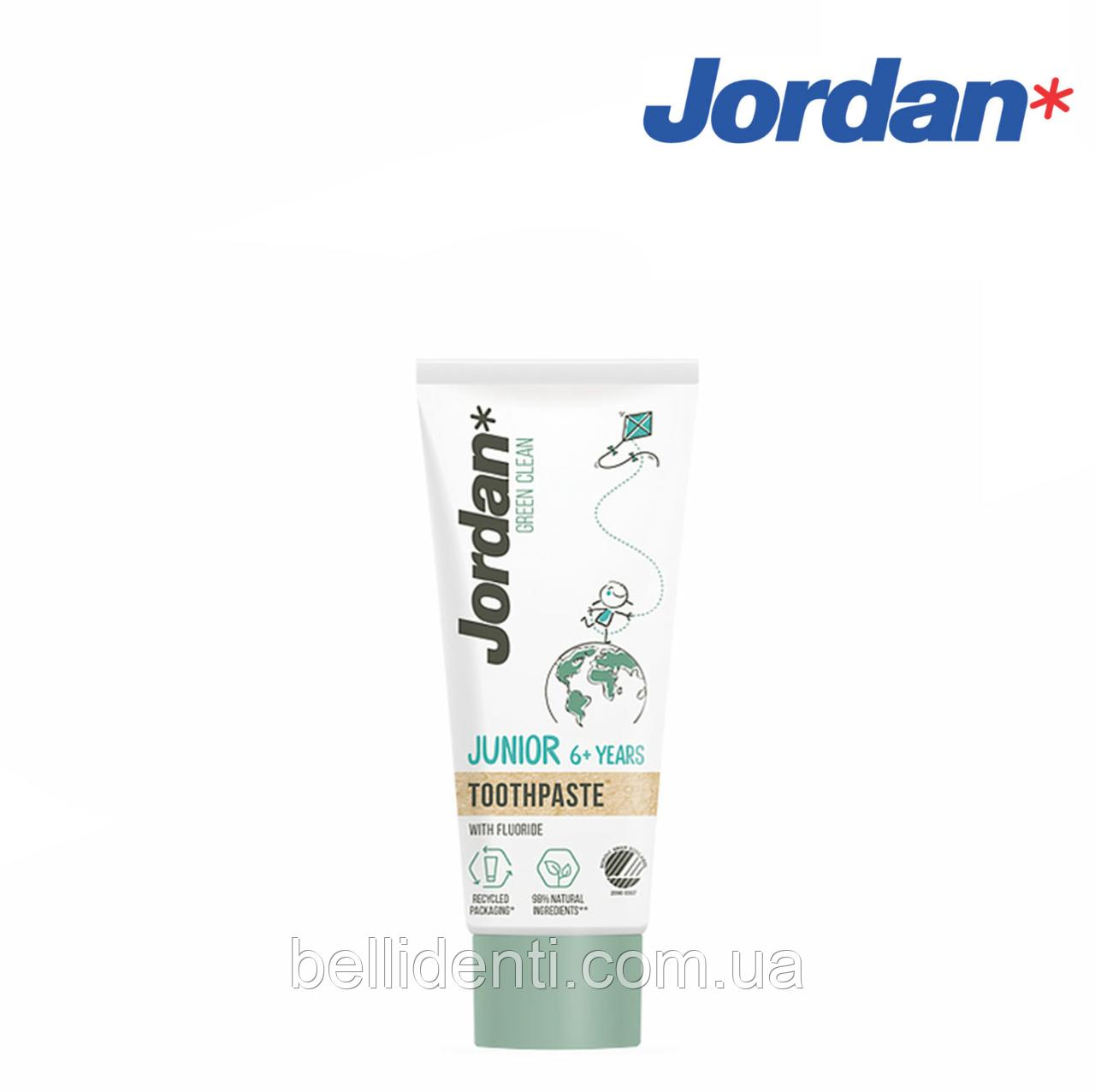 Зубная паста Jordan Green Clean Junior (6-12 лет), 50 мл