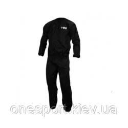 Костюм для сгонки веса TITLE Exceed Nylon Sauna Suit L чёрный + сертификат на 50 грн в подарок (код