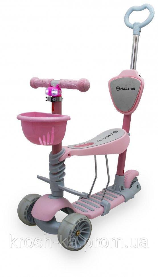Самокат детский Tucson розовый,бирюзовый Maraton Китай 65020