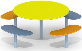 Песочный столик Детство P39