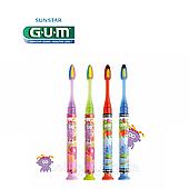 Детская зубная щетка GUM JUNIOR MONSTER (7-12 лет) LIGHT-UP,  1шт