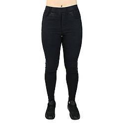 Джеггінси жіночі облягаючі чорні ТМ Метелик M, L, XL