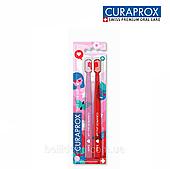 Набор зубных щеток Curaprox Love 2021 Ultra Soft, 2 шт