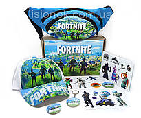 Бокс Фортнайт із кепкою - відмінний подарунок фанатам гри Fortnite