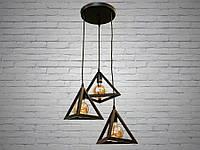 Светильник-подвес в стиле Loft 1045/3: