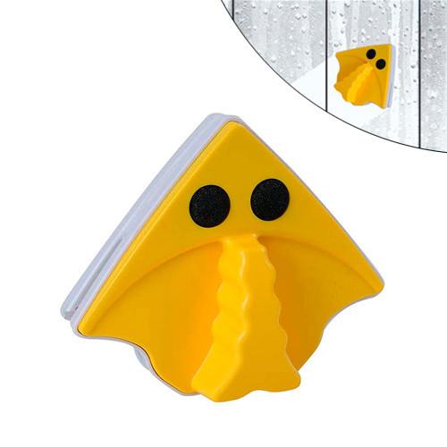 Магнитная щетка для мытья окон 3-8мм с двух сторон, треугольная