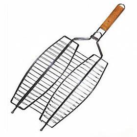 Решетка-гриль 2 секции для рыбы A-PLUS 1888