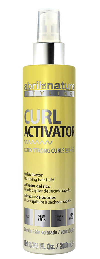 Двофазний Спрей для створення локонів Abril et Nature Advanced Stiyling Curl Activator Spray Extra Strong