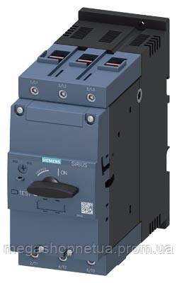 3RV2042-4RA10 автомат захисту двигуна 45 кВт 84 ампер 65...84 А Siemens