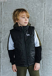 Детcкая жилетка Staff black чёрный LBL0159