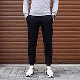 Комплект свитшот серый и джогери черные, фото 4