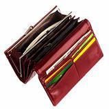 Гаманець ClassicSeries червоний еко шкіра, 711 red, фото 2