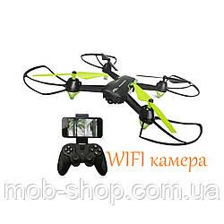 Квадрокоптер HC676 c WiFi камерой (коптер дрон с вай фай камерой)