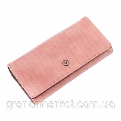 Гаманець ClassicSeries рожевий, еко шкіра, 716 pink