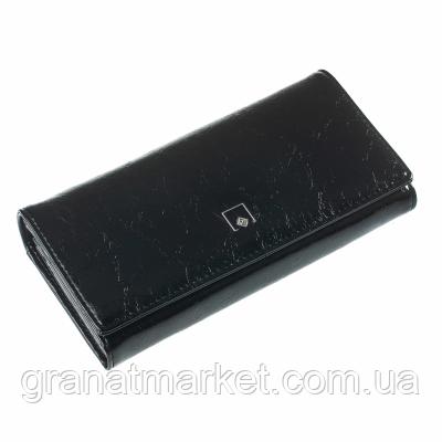 Кошелек ClassicSeries черный, эко кожа, 711 black