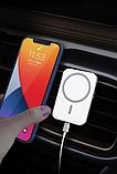 Магнитный автодержатель с беспроводной зарядкой MagSafe X16 для iPhone 12 mini, 12, 12 Pro, 12 Pro Max, фото 2