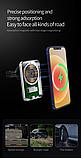 Магнитный автодержатель с беспроводной зарядкой MagSafe X16 для iPhone 12 mini, 12, 12 Pro, 12 Pro Max, фото 3