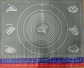 Силіконовий килимок для розкочування 70*50 см