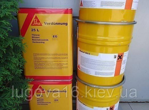 Защитное покрытие на основе полиуретанов для стали, оцинкованных поверхностей и алюминия SikaCor EG 5, 30 кг