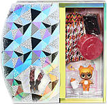 Лялька L. O. L. Surprise! OMG Winter Chill Missy Meow - ЛОЛ ОМГ Леді-Кітті +25 сюрпризів, фото 6
