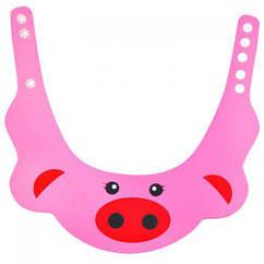 Козырек для купания, розовый