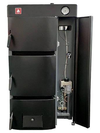 Универсальный котел Житомир-9 КС-Г-020 СН/АОТВ-15 (одноконтурный) дрова газ, фото 2