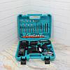 Шуруповерт Makita 550 DWE (24V, 5.0AH) с набором инструментов. Аккумуляторный шуруповерт Макита - Фото