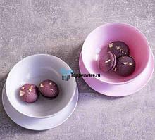 Tupperware чаші Алегро 275мл 2 шт рожева і біла