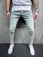 Мужские зауженные джинсы весна осень
