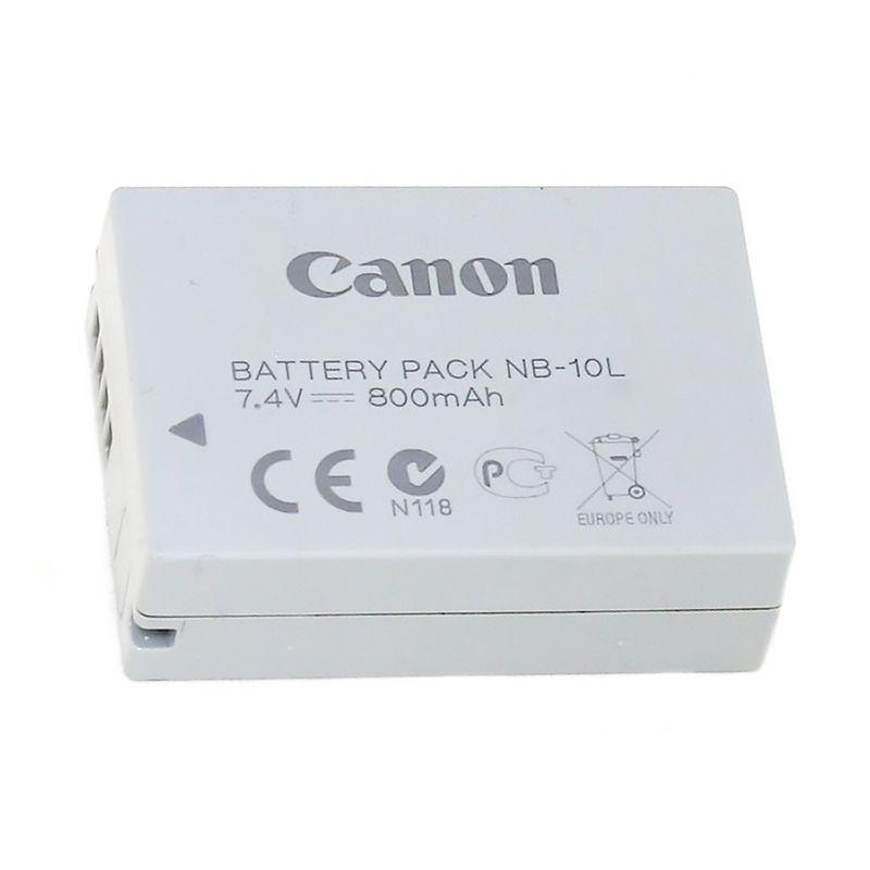 Акумулятор для фотоапарата Canon NB-10L (800 mAh)