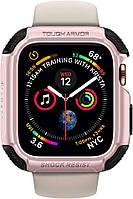 Чехол Spigen для Apple Watch (44mm) Tough Armor, Rose Gold (062CS24479)