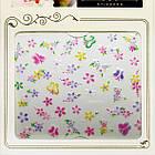 Наклейки для Нігтів Самоклеючі 3D Nail Sticrer CHA 13 Квіти Метелики Різних Кольорів Слайдер Дизайн, фото 3