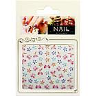 Наклейки для Нігтів Самоклеючі 3D Nail Sticrer CHA 21 Квіти Метелики Слайдери для Дизайну, фото 2