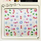 Наклейки для Нігтів Самоклеючі 3D CHA 25 Радісні Різнобарвні Квіти Гірлянди Манікюр, Слайдер, фото 3