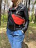 Жіноча поясна сумка (бананка). З натуральної шкіри!, фото 3
