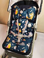 Универсальный матрас в коляску / автокресло / стульчик для кормления, фото 3