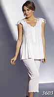 Пижама женская MARIPOSA майка с капри (S, M. L, XL), 3603